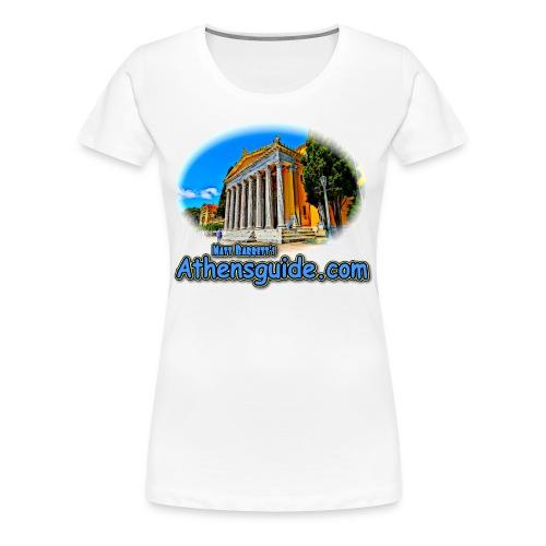 Athensguide Zappion (women) - Women's Premium T-Shirt