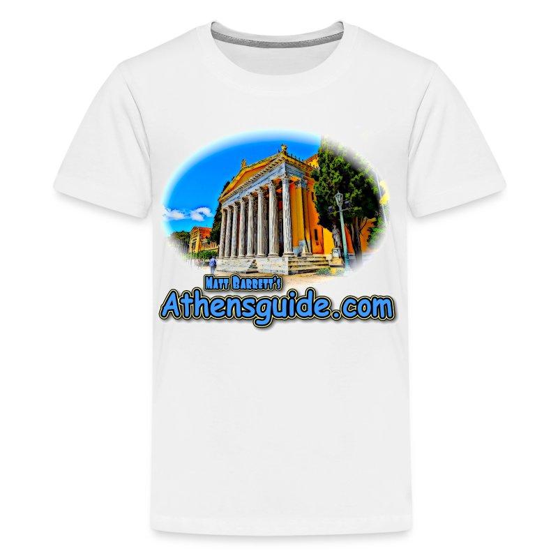 Athensguide Zappion (kids) - Kids' Premium T-Shirt