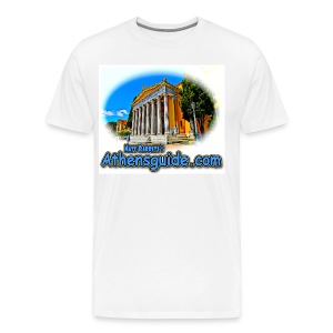 Athensguide Zappion (men) - Men's Premium T-Shirt