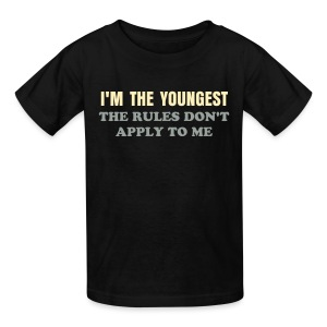 BEST SELLER- I'm the Youngest - Kids' T-Shirt
