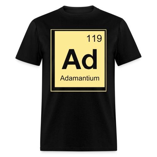 Adamantium Funny Geek Nerd T-Shirt - Men's T-Shirt