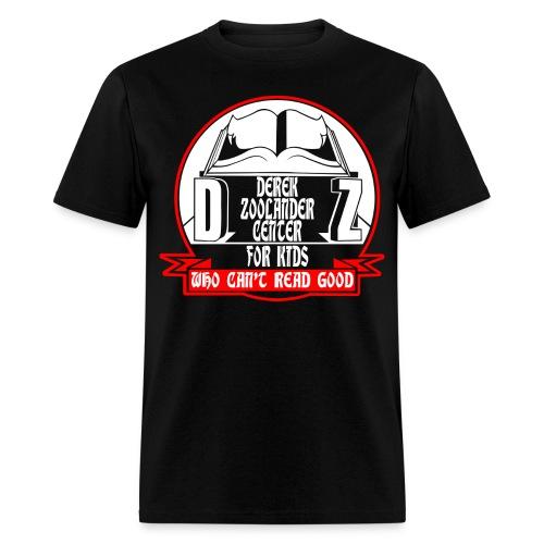 Derek Zoolander Center Funny Geek Nerd T-Shirt - Men's T-Shirt
