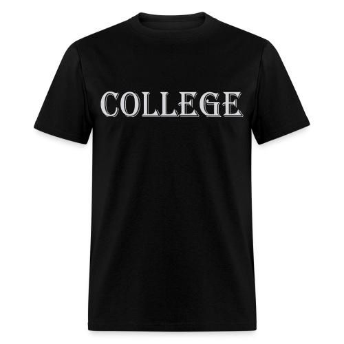 College Funny Geek Nerd T-Shirt - Men's T-Shirt