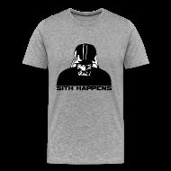 T-Shirts ~ Men's Premium T-Shirt ~ Darth Vader Sith Happens