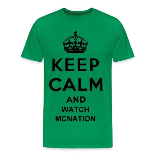 Mens keep calm t-shirt - Men's Premium T-Shirt