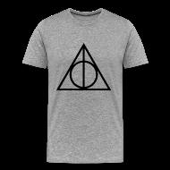 T-Shirts ~ Men's Premium T-Shirt ~ Deathly Hallows