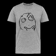 T-Shirts ~ Men's Premium T-Shirt ~ Derp thinking meme