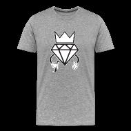 T-Shirts ~ Men's Premium T-Shirt ~ diamond crown graffiti