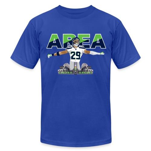 Slim Fit Area 29 Colossus (Retro Blue) - Men's Fine Jersey T-Shirt
