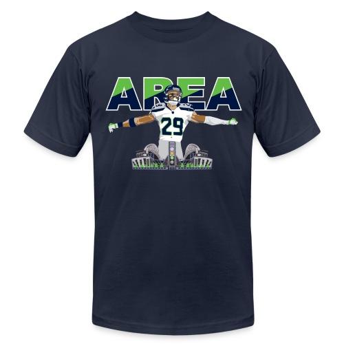 Slim Fit Area 29 Colossus (Navy) - Men's Fine Jersey T-Shirt