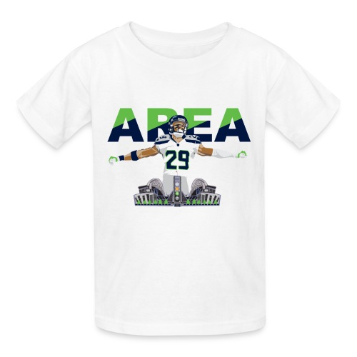 Kids Area 29 Colossus (White) - Kids' T-Shirt