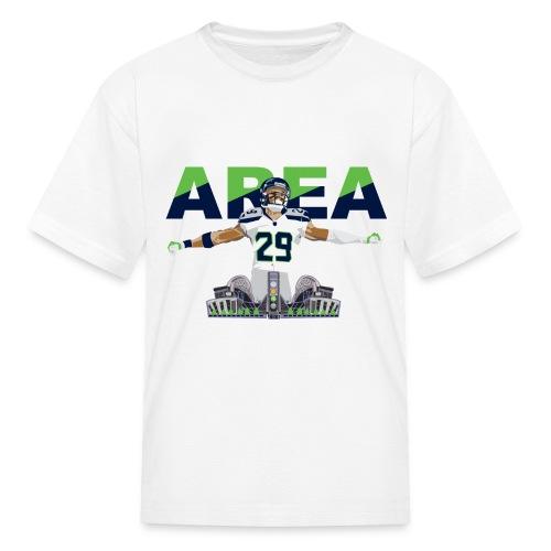 Kids Area 29 Colossus (White) - Kids' T-Shirt
