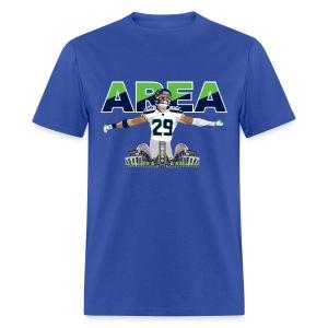 Easy Fit Area 29 Colossus (Retro Blue) - Men's T-Shirt
