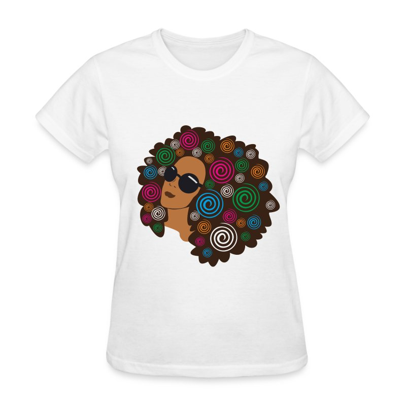 Nappy in Color - Women's T-Shirt