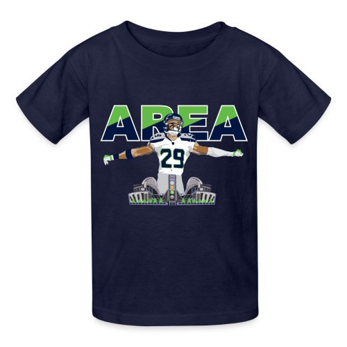 Kids Area 29 Colossus (Navy) - Kids' T-Shirt