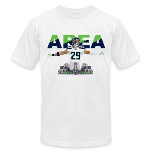 Slim Fit Area 29 Colossus (White) - Men's T-Shirt by American Apparel