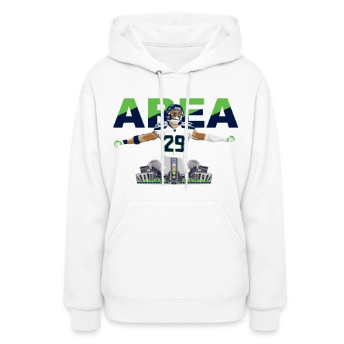 Hoodie Area 29 Colossus (White) - Women's Hoodie