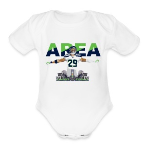 Baby Area 29 Colossus (White) - Baby Short Sleeve One Piece