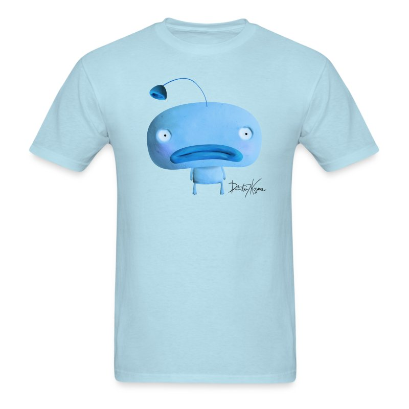 Carpe Diem BLUE man Tshirt - Men's T-Shirt