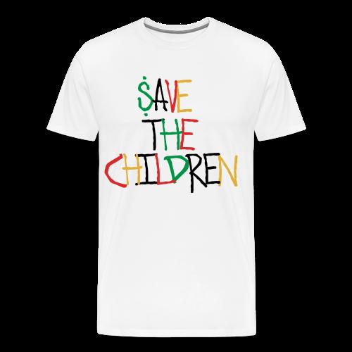 Save The Children T-Shirt - Men's Premium T-Shirt