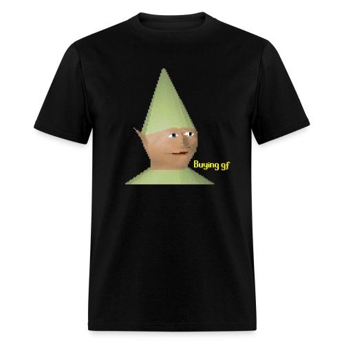 Elf man w/ gf - Men's T-Shirt
