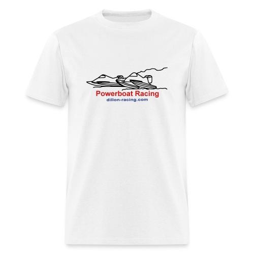 Powerboat Racing Value Tee - Men's T-Shirt
