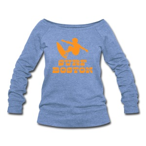 Surf Boston - Women's Wideneck Sweatshirt