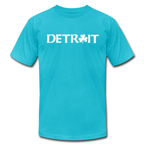 Detroit Shamrock - Men's  Jersey T-Shirt