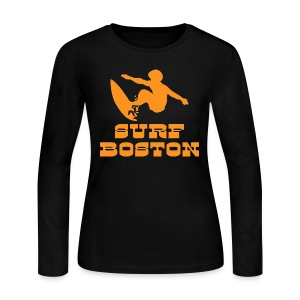 Surf Boston - Women's Long Sleeve Jersey T-Shirt