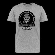 T-Shirts ~ Men's Premium T-Shirt ~ Big & Tall FERN T (Light Shirts)