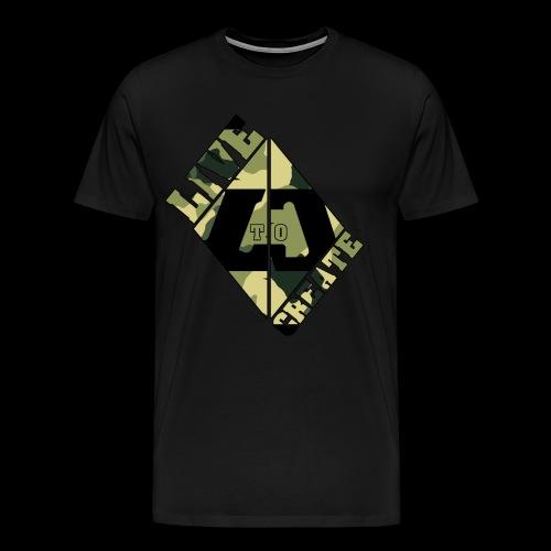 Camo - Men's Premium T-Shirt
