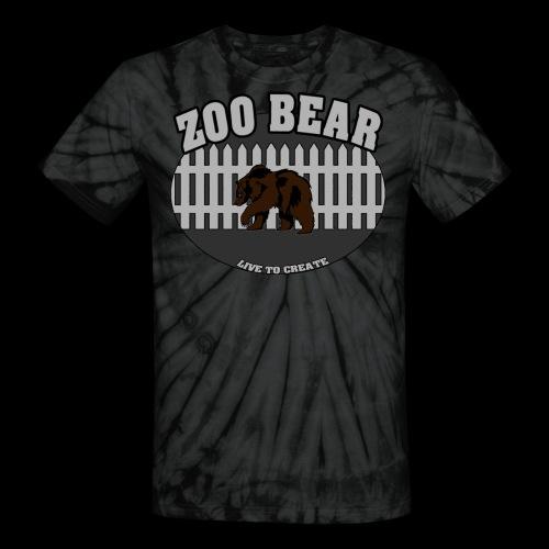 Zoobear x Live to create - Unisex Tie Dye T-Shirt