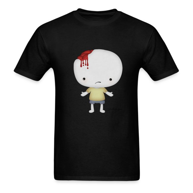 Injured Boy - My Sweetheart - Men Tshirt