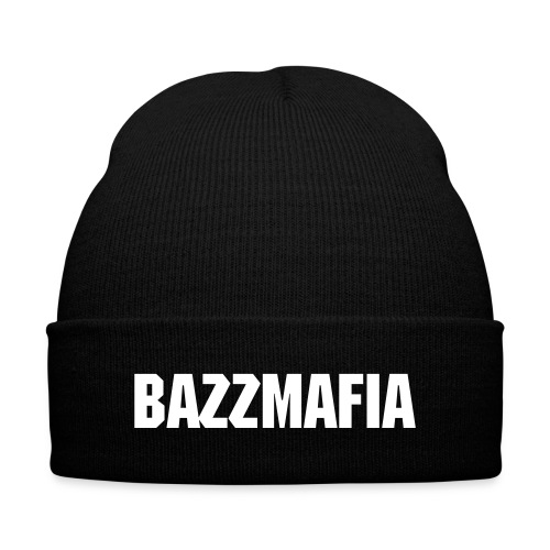 Bazz Mafia Knit Cap with Cuff Print - Knit Cap with Cuff Print