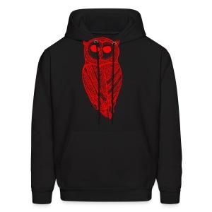 The Majestic Owl (Original) - Men's Hoodie