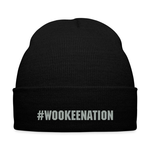 WookeeNation Beanie - Knit Cap with Cuff Print