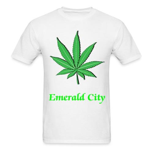 Emerald City Tee Shirt #4 - Men's T-Shirt