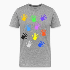 Colorful handprints Shirt