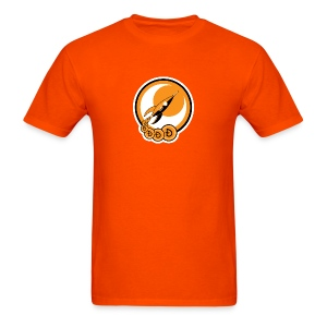 Dogecoin Moon Rocket - Men's T-Shirt
