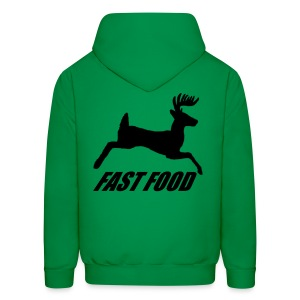 Whitetail Fast Food - Men's Hoodie