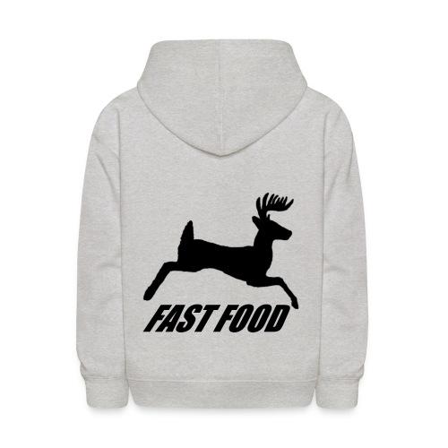 Whitetail Fast Food - Kids' Hoodie