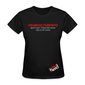 SUBCULTURE MEET TEE - Women's T-Shirt