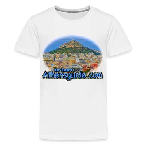 Athensguide-Lykavettos (kids) - Kids' Premium T-Shirt