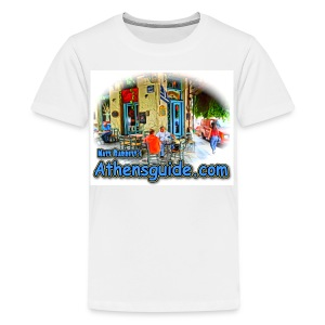 Athensguide Ouzeri (kids) - Kids' Premium T-Shirt