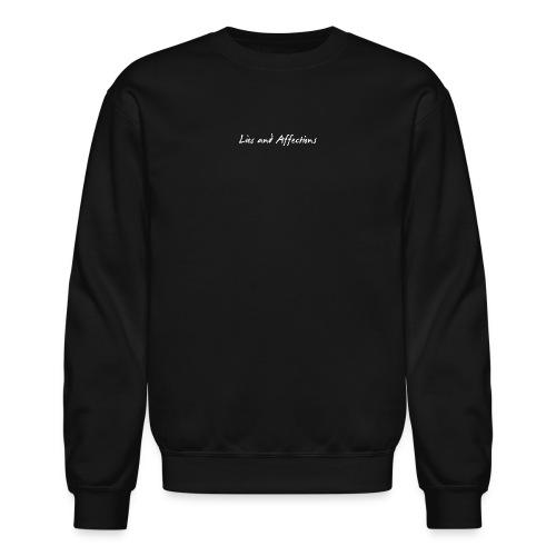 LIes And Affection Sweatshirt Black - Crewneck Sweatshirt