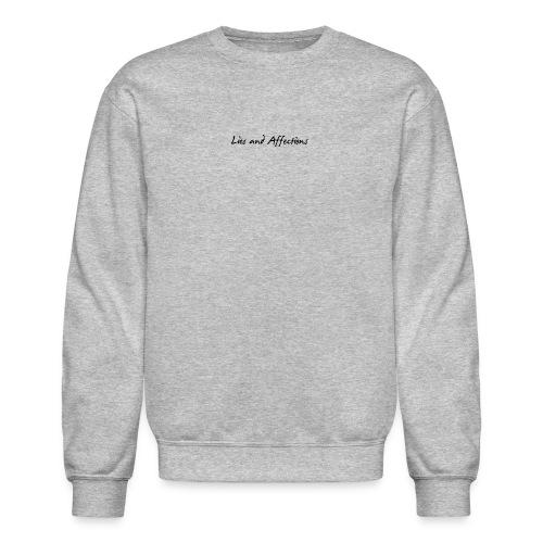 LIes And Affection Sweatshirt Grey - Crewneck Sweatshirt