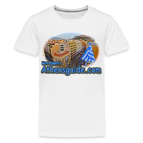 Athensguide Attalos View (kids) - Kids' Premium T-Shirt