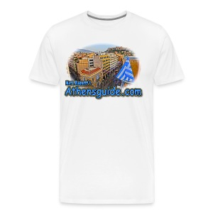 Athensguide Attalos View (men) - Men's Premium T-Shirt