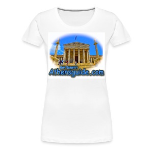 Athensguide University (kids) - Women's Premium T-Shirt