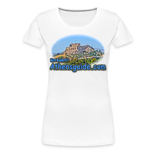Athensguide Acropolis (women) - Women's Premium T-Shirt